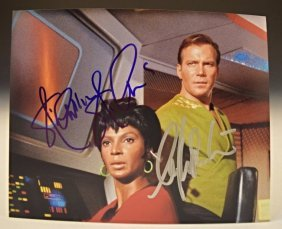 Star Trek Cast Signed Photo