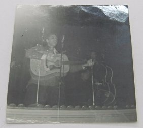 Elvis Presley Signed Concert Photograph