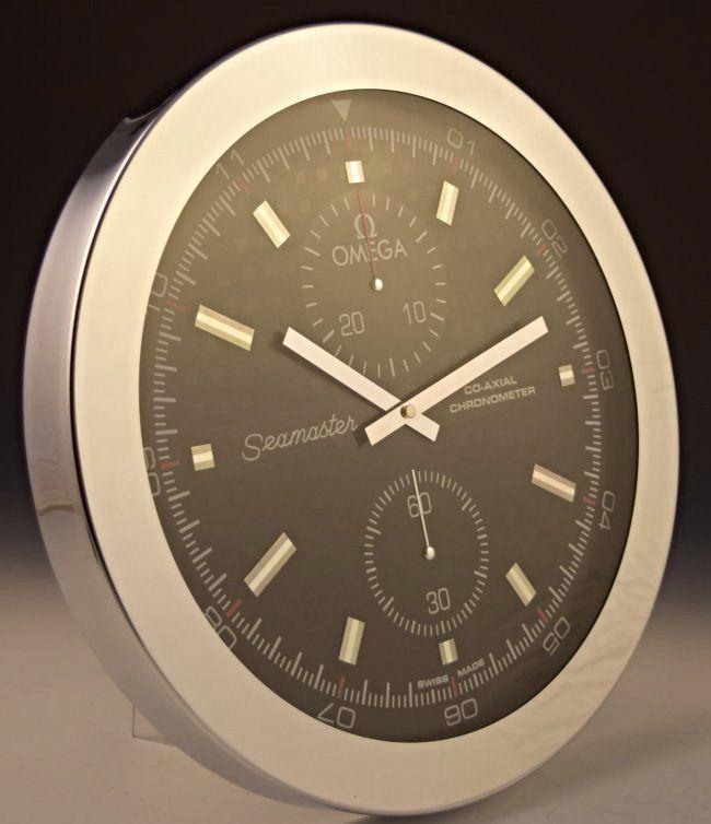 Omega Seamaster Dealer Clock