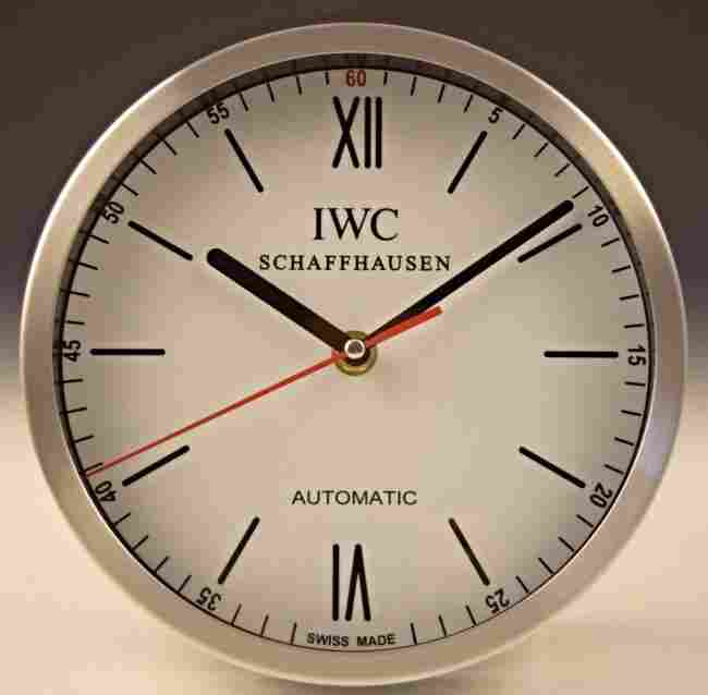 IWC Dealer Clock