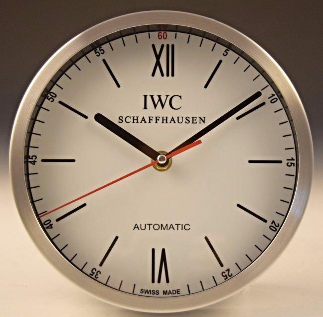 IWC Dealer Clock