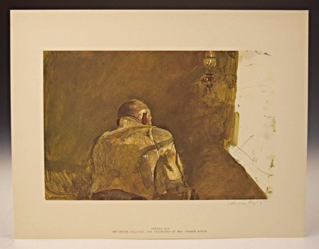 Andrew Wyeth Signed