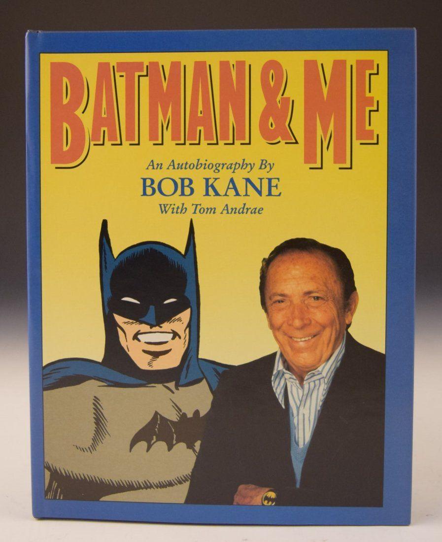 Bob Kane Signed Book