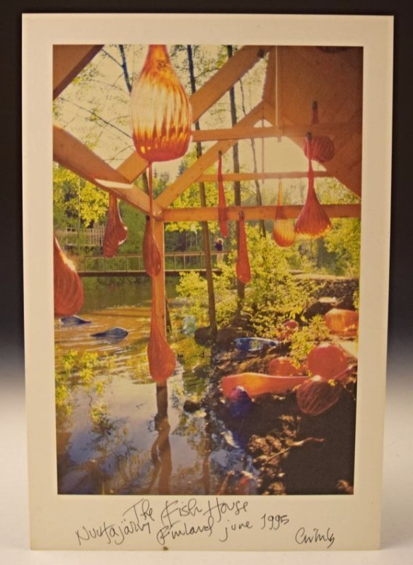 Dale Chihuly Signed Print