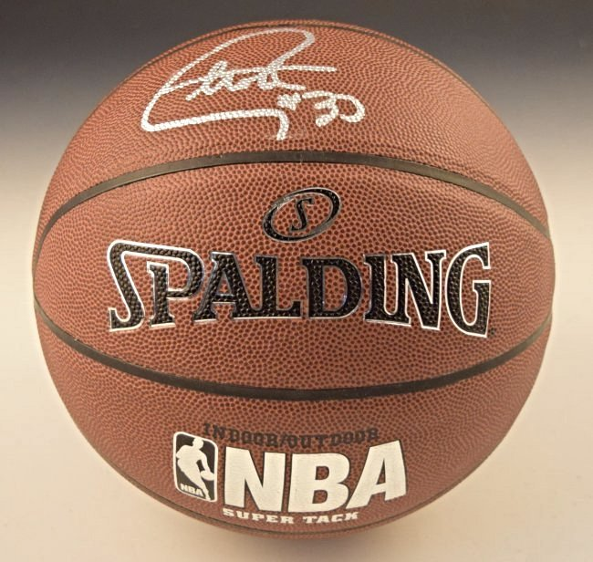 Stephen Curry Signed Basketball