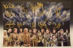 Game of Thrones Cast Signed Photo