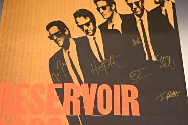 Reservoir Dogs Cast Signed Movie Poster - 2