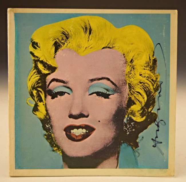1971 Andy Warhol Signed Marilyn