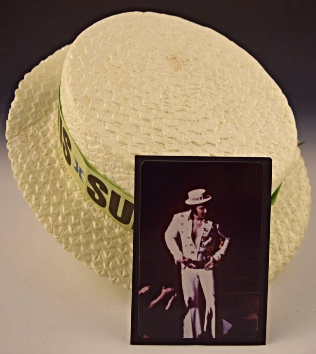 Elvis Presley Stage Worn Hat