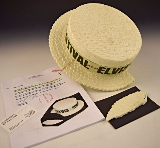 Elvis Presley Stage Worn Hat - 5