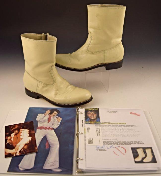Elvis Presley Stage Worn Concert Boots