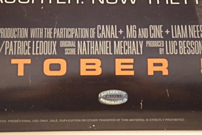 Taken 2 Cast Signed Movie Poster - 4