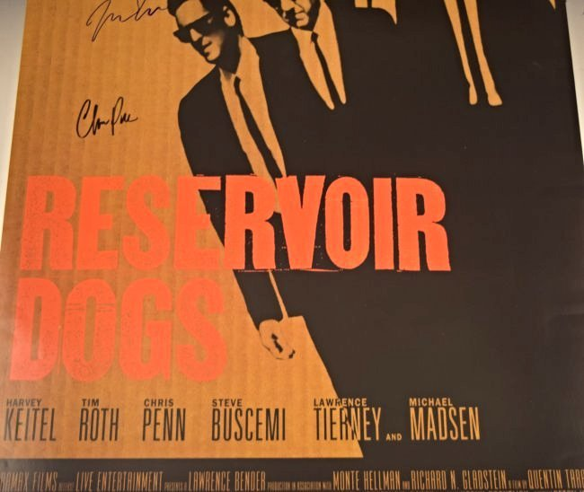 Reservoir Dogs Cast Signed Movie Poster - 3