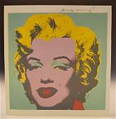 Andy Warhol Signed Print