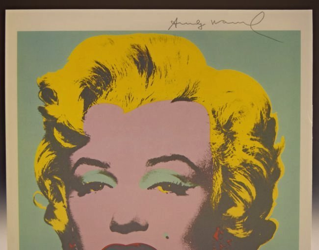 Andy Warhol Signed Print - 2