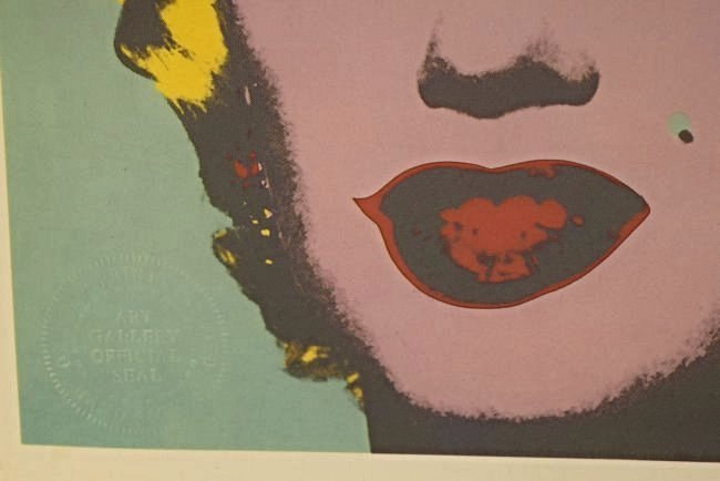 Andy Warhol Signed Print - 3