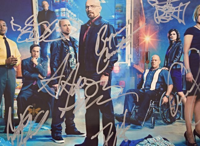 Breaking Bad Cast Signed Photo - 2
