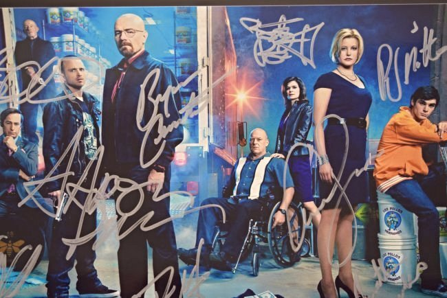 Breaking Bad Cast Signed Photo - 3