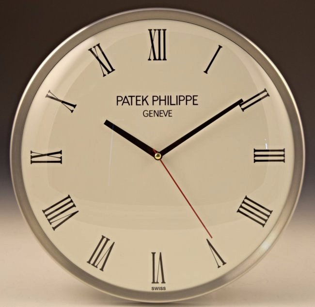 Patek Philippe Calatrava Showroom Dealer Clock