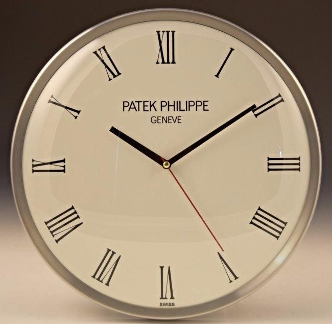 Patek Philippe Calatrava Showroom Dealer Clock
