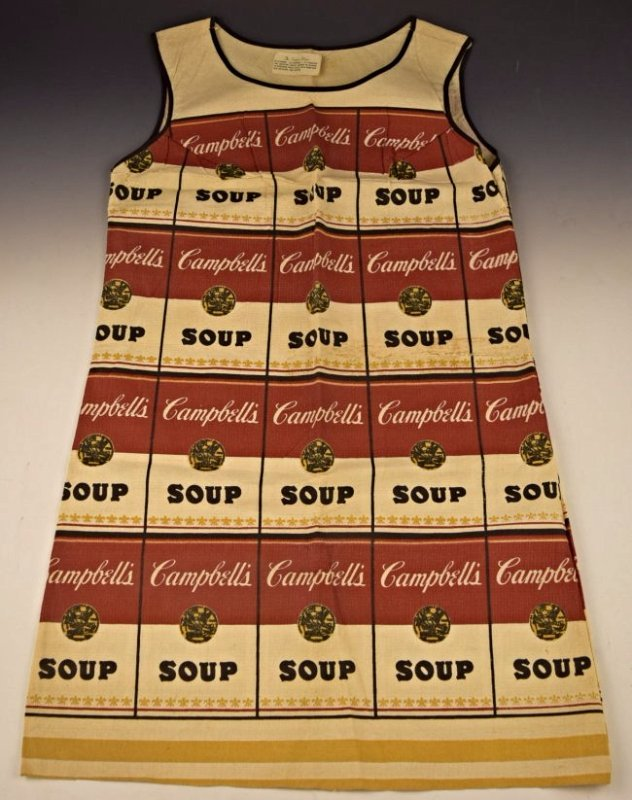 Andy Warhol Souper Dress