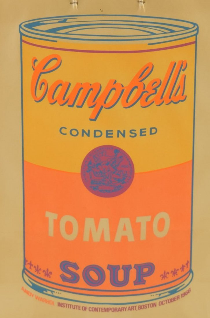 Andy Warhol Campbell's Soup Shopping Bag - 2