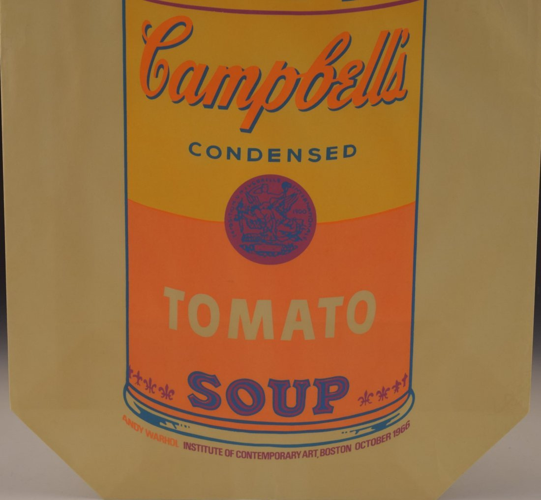 Andy Warhol Campbell's Soup Shopping Bag - 3