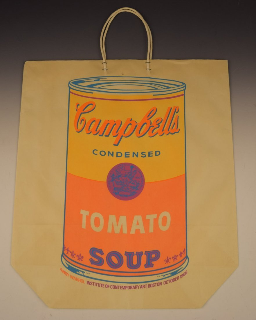 Andy Warhol Campbell's Soup Shopping Bag - 4