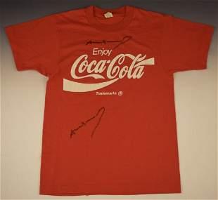 Andy Warhol Signed Coca Cola