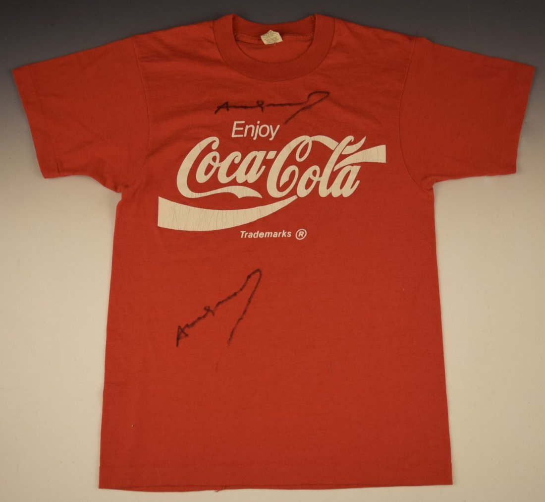 Andy Warhol Signed Coca Cola