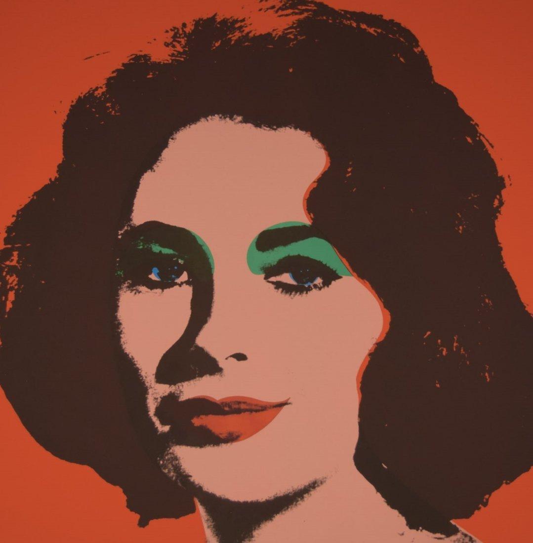 Andy Warhol Liz Taylor - 2