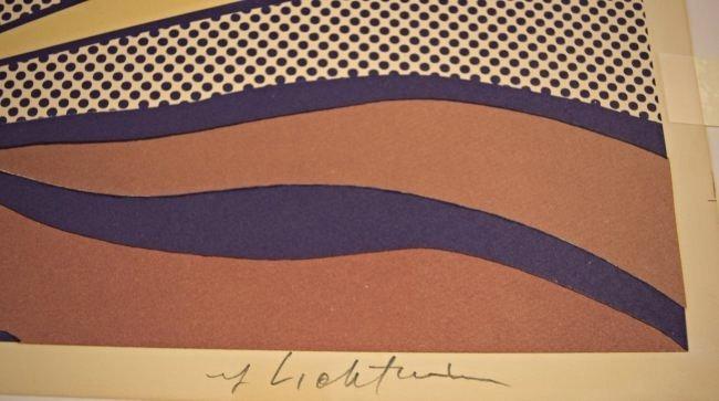 Roy Lichtenstein Sunrise, Signed - 3