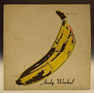 Andy Warhol Velvet Underground LP