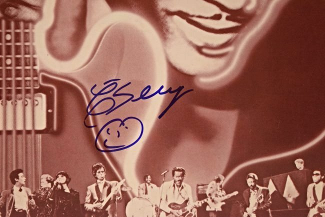 Chuck Berry Signed Page - 2