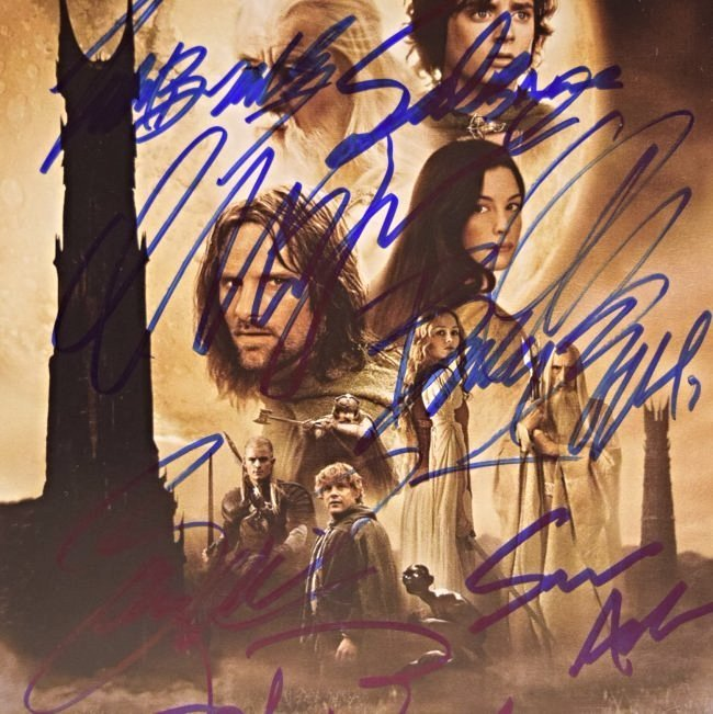 Lord of the Rings Cast Signed Photo - 2