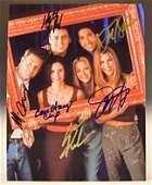 Friends Cast Signed Photo