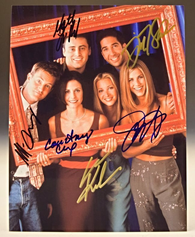 Friends Cast Signed Photo