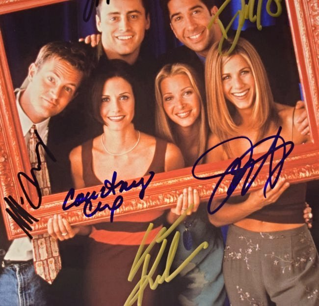 Friends Cast Signed Photo - 2