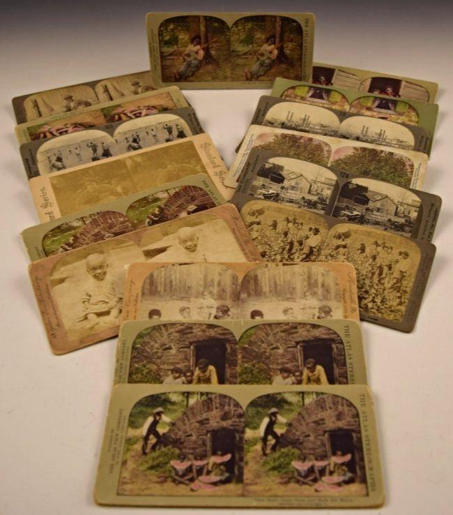 Black Americana Slavery Photograph Cards