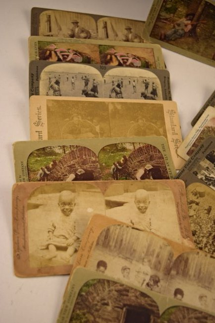 Black Americana Slavery Photograph Cards - 2