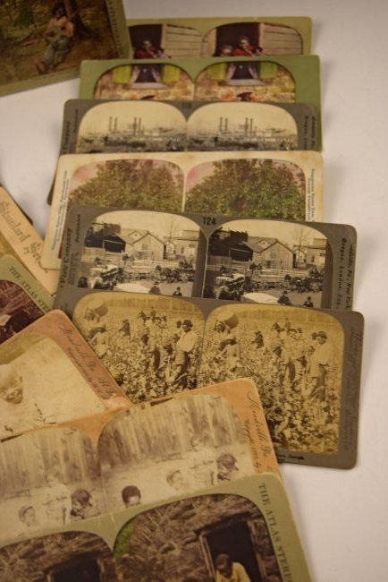 Black Americana Slavery Photograph Cards - 3