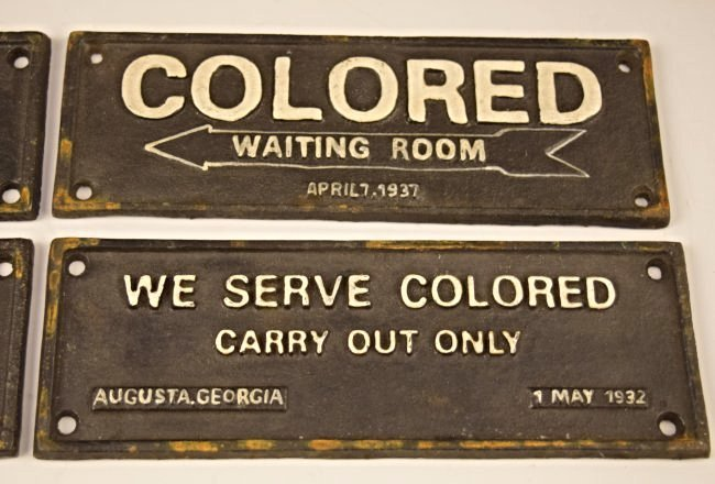 Grouping of Cast Iron Segregation Signs - 3