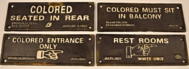Grouping of Cast Iron Segregation Signs