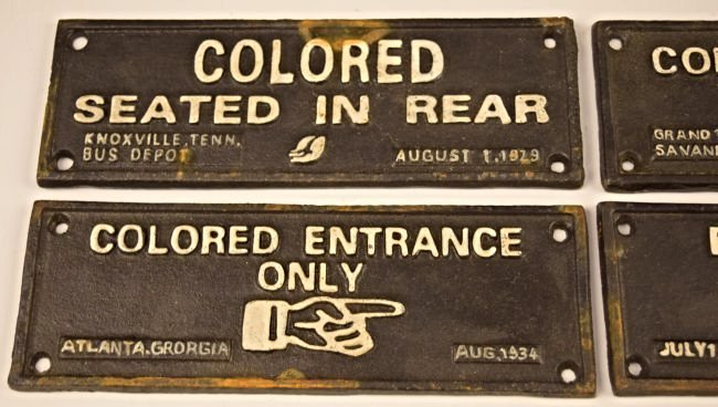 Grouping of Cast Iron Segregation Signs - 2