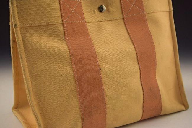 Hermes Canvas Tote Bag - 2