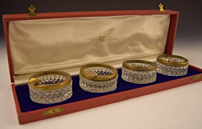 Cartier Ashtray Set