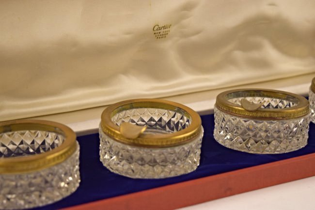 Cartier Ashtray Set - 3