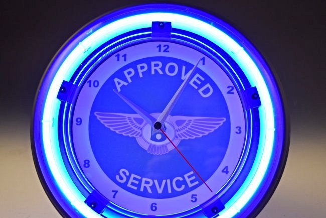 Bentley Neon Wall Clock - 2