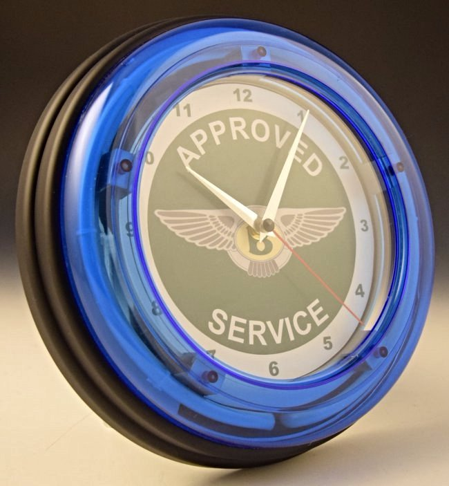 Bentley Neon Wall Clock - 3