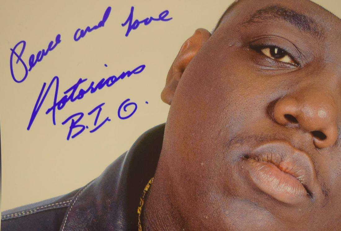 Biggie Autographed Photo - 2